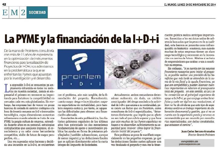 la pyme y la financiacion